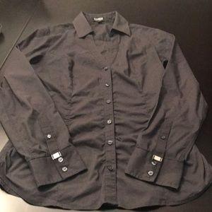 Express long sleeve button down shirt